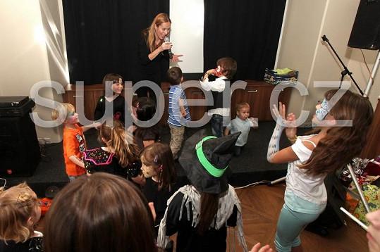 Děti si nejvíc užily zpěv Moniky Absolonové