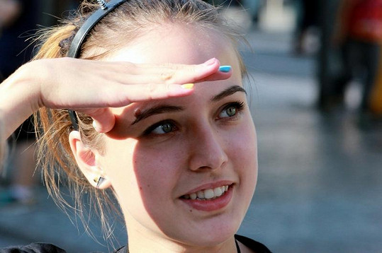 Tereza Voříšková má neskutečně krásné oči.