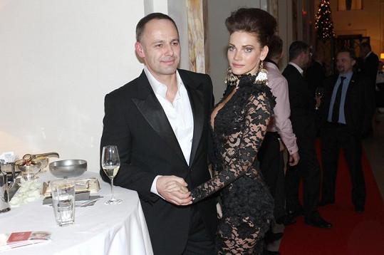 Verešová s manželem Danielem.