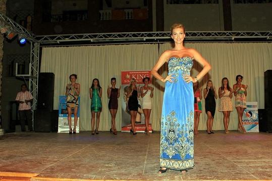 Dominika Mesarošová v Egyptě uspořádala módní přehlídku.