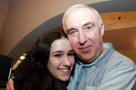 Rostislav má nadhernou dceru Janičku.