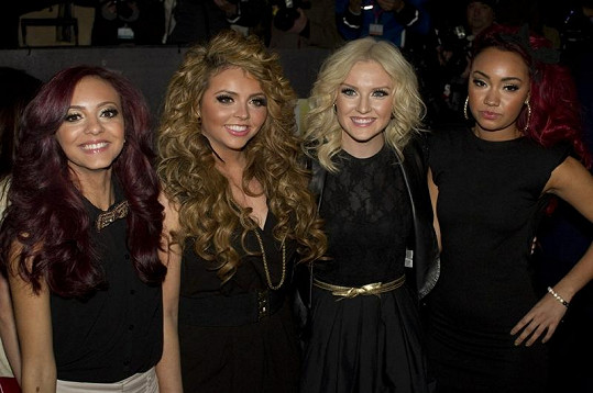 Little Mix ve složení zleva: Perrie Edwards, Jesy Nelson, Leigh-Anne Pinnock a Jade Thirlwall.