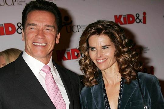 Arnie a jeho manželka Maria Shriver.
