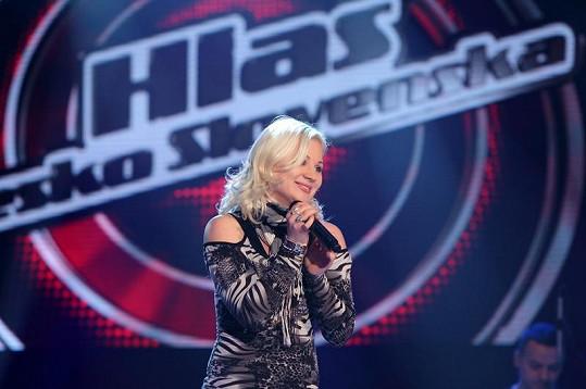 Ivanna se ukázala jako brilantní zpěvačka.