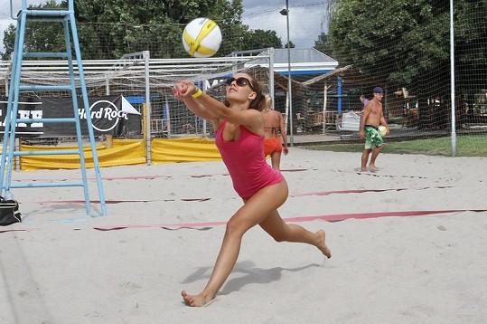 Tereza se volejbalu věnuje odmalička.