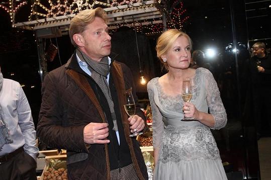 Na akci pochopitelně nemohla chybět majitelka butiku Lenka Vejvalková.