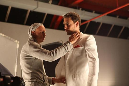 Martin Gardavský si práci v modelingu užívá.