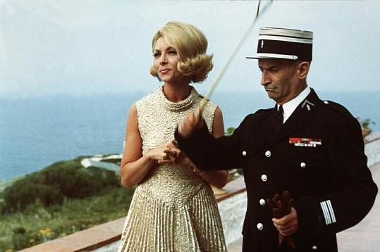 Dva skvělí herci v komedii Četník se žení.