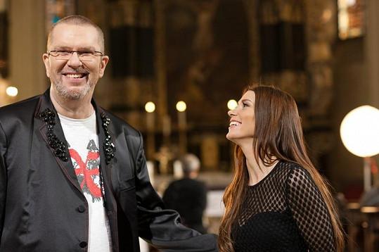 Pro popovou princeznu byla spolupráce s hudební legendou velká čest.