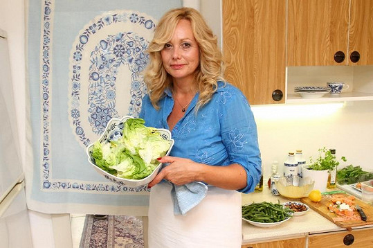 Martina uvaří hvězdným hostům.