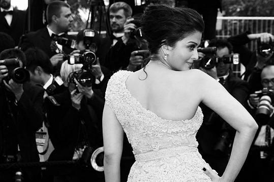 Aišvarjá Ráj na festivalu v Cannes.