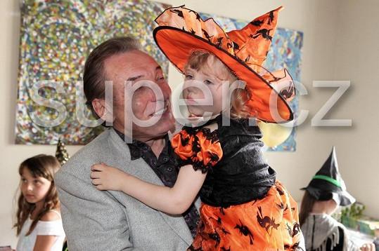Karel Gott s dcerkou Nelly
