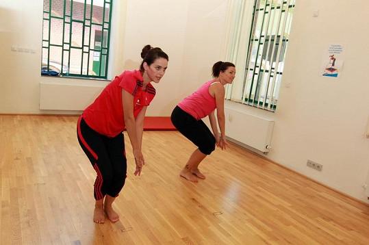 Libuška Vojtková je výbornou tanečnicí a nyní i cvičitelkou.
