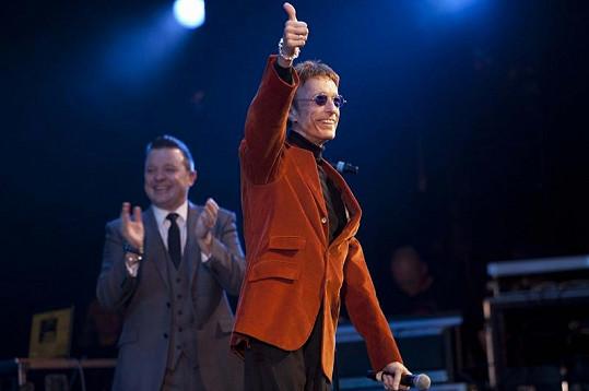 Robin Gibb si první vystoupení po pěti měsících užíval.