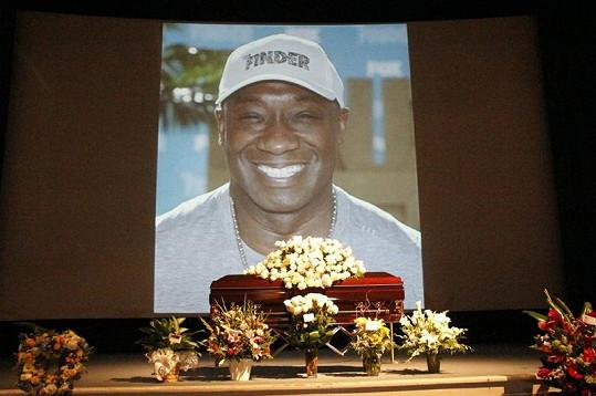 Pohřeb herce se konal v hollywoodské Hall of Liberty.