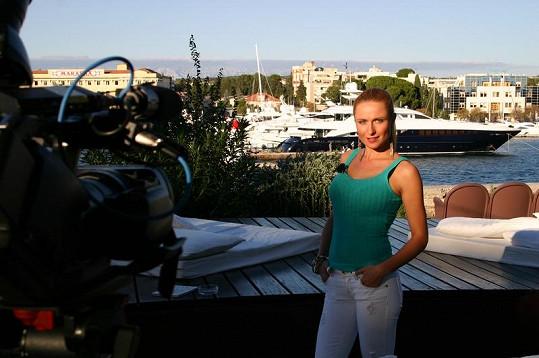Pavelková trémou netrpí.
