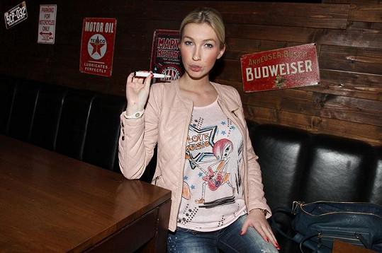 Dominika Mesarošová kouří zdravě.