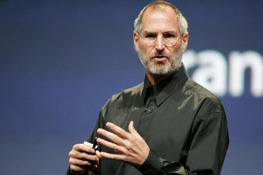 Zakladatel společnosti Apple Steve Jobs.