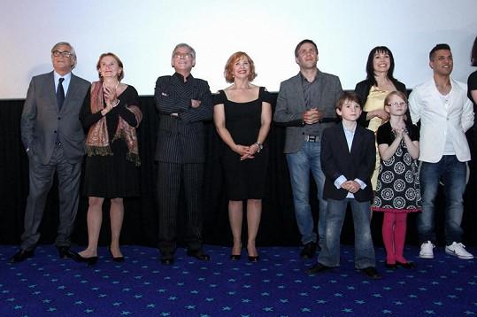 Premiéra nového českého filmu Líbáš jako ďábel.