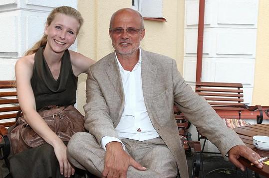 Míša s manželem Michalem Horáčkem