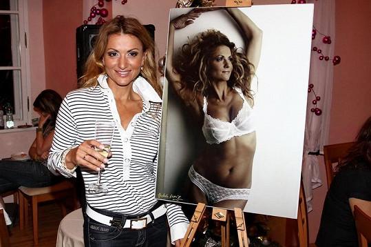 Yvetta Blanarovičová má v 46. letech skvělou postavu.