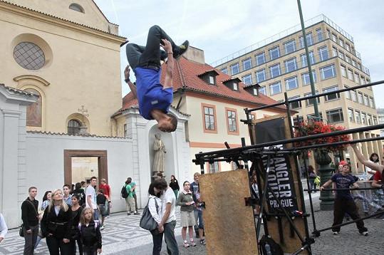 Benův dokonalý styl by mu mohli závidět i profesionální akrobaté.