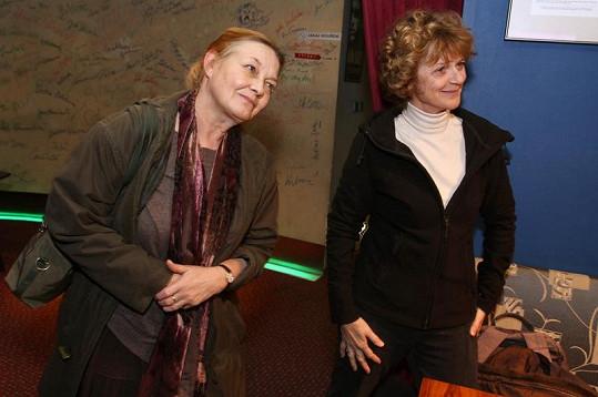 Jana Preissová s Taťjanou Medveckou