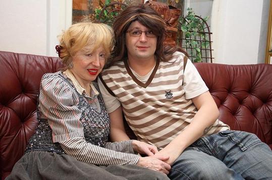 David s paní Inkou, která na 81 let vypadá úžasně.