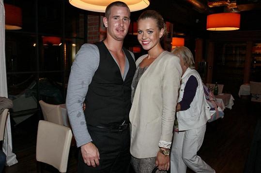 Veronika s přítelem Romanem Červenkou