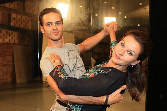 Dana Morávková a Jiří Hein byli favority soutěže.
