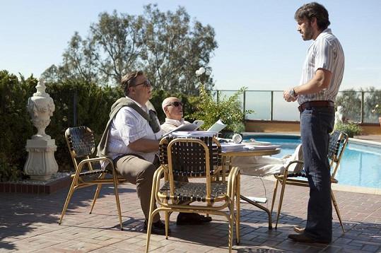 John Goodman, Alan Arkin a Ben Affleck.