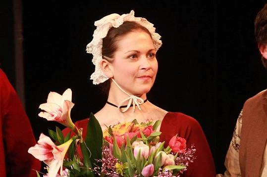 Kristýna v představení Jappe z vršku.