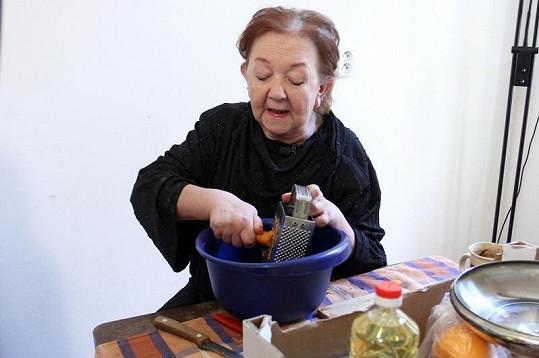 Hanušová připravila jídlo bez masa.
