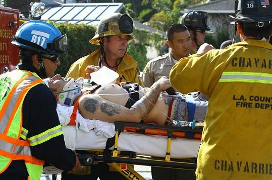 Arquette měl v březnu vážnou nehodu.