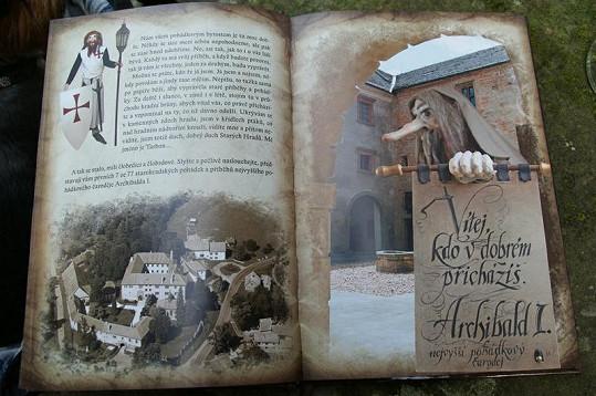 Napínavé a dobrodružné Starohradské pohádky čaroděje Archibalda jsou plné krásných fotek a ilustrací.