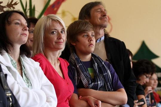 Veronika Žilková byla napjatější, než Kordulka.