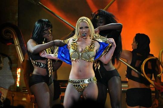 Britney Spears v Moskvě.