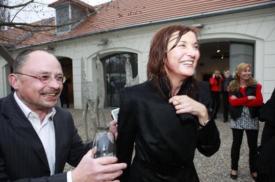 Slavná návrhářka Beata Rajská ani mokrá neztratila smysl pro humor