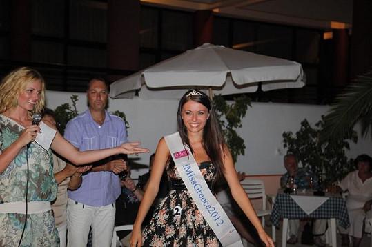 Veronika Kozielová se stala iMiss Greece 2012. Uspěje také ve velkém finále?
