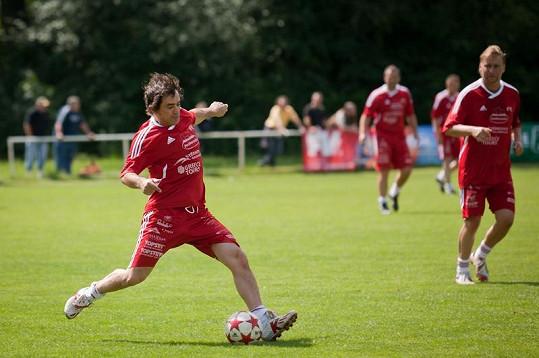 Sagvan Tofi na fotbale.