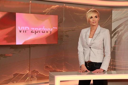 Hana Mašlíková má moderátorské ambice již dlouho.