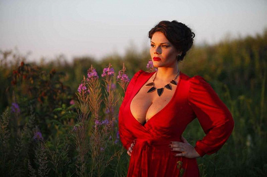 Marija Zarring má nejen krásné tělo, ale i romantickou duši.