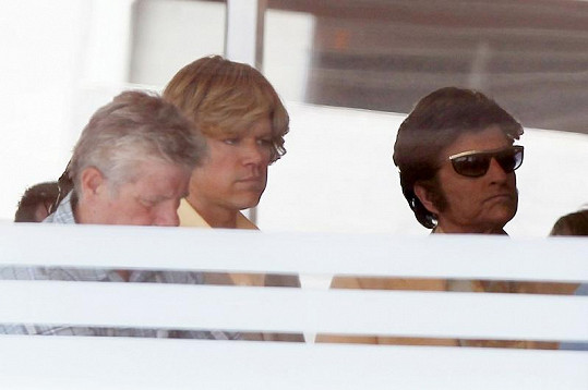 Michael Douglas a Matt Damon si zahráli milence.