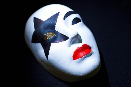 Tuhle masku vytvořil Jaro Slávik.
