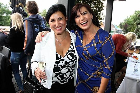 Andrea Kalivodová přišla se svou maminkou, která na akci přijela z Brna.