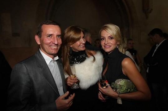 Dara si povídala s miliardářem Markem Dospivou a podnikatelkou Tamarou Bendlovou.