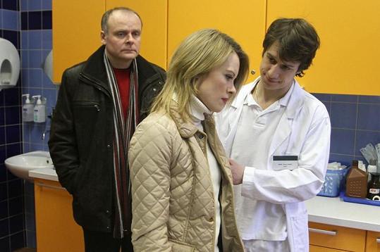 Martin s Igorem Barešem a Lindou Rybovou.