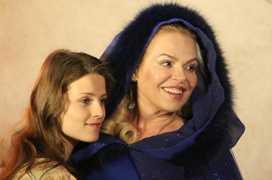 Dagmar Havlová si v pohádce Šťastný smolař zahrála půvabnou Štěstěnu.