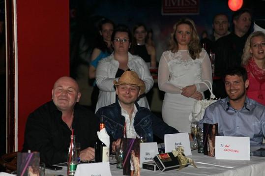 V porotě nechyběl ani Jarek Šimek (uprostřed).