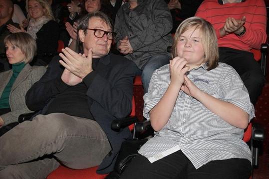 S tátou v kině